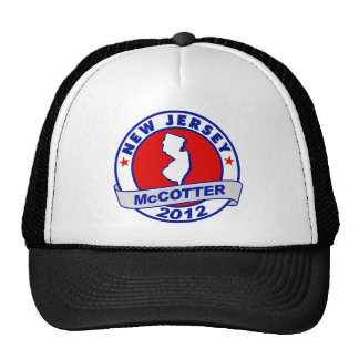 New Jersey Thad McCotter Mesh Hat
