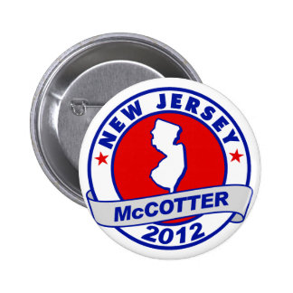 New Jersey Thad McCotter Pinback Buttons