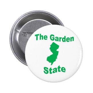 New Jersey: The Garden State Pinback Button