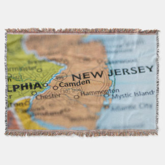 New Jersey Throw Blanket