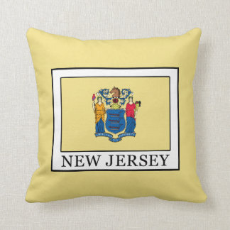 New Jersey Throw Pillow
