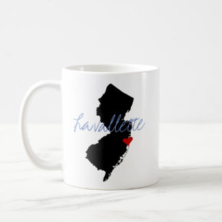 New Jersey Town Coffee Mug