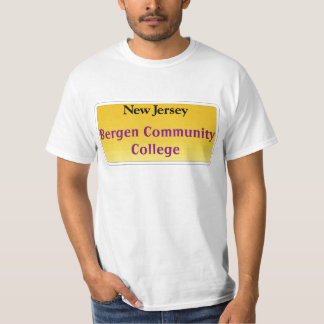New Jersey Towns and Schools T-Shirt