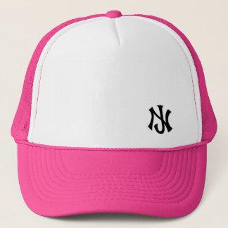 New Jersey trucker Pink Trucker Hat