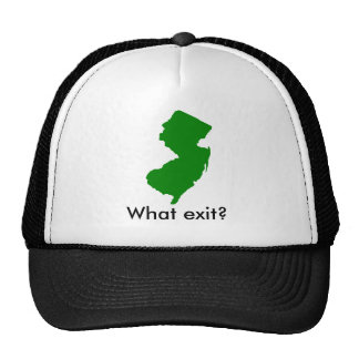 new-jersey, What exit? Cap