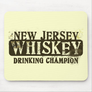 New Jersey Whiskey Drinking Champion Mouse Pad