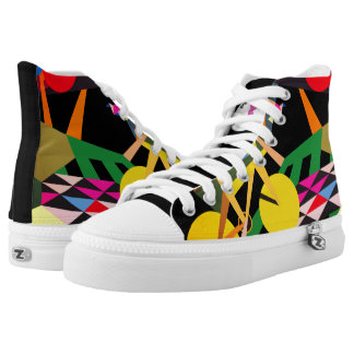 NEW Joy of Life Popular Design by Raluca Nedelcu High Tops