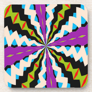 New Kaleidoscope Beverage Coaster