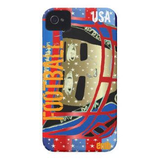 New Kids Football Art iPhone 4S & 4 Case Xmas Gift Case-Mate iPhone 4 Case