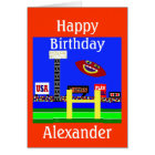 New Kids Football Personalised Birthday Card