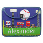 New Kids Sports Baseball Personalised Laptop Case
