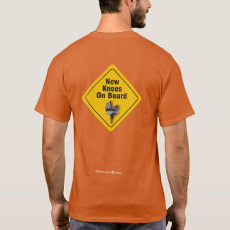 """New Knees On Board"" Bilateral TKR T-Shirt"