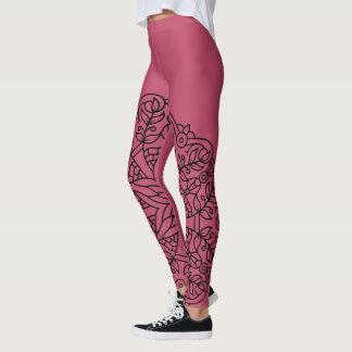 New leggings in shop : with Mandala art