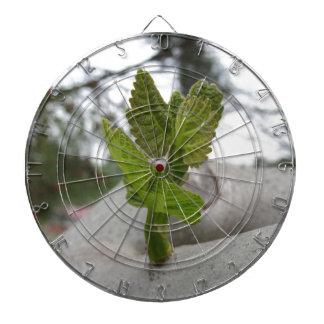 New life idea concept dartboard