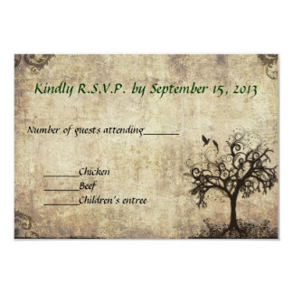 New Life Wedding RSVP Card  Invitation