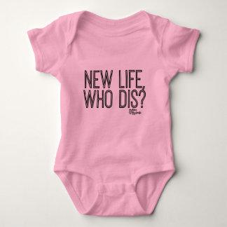 New Life, Who Dis Baby body suit Baby Bodysuit