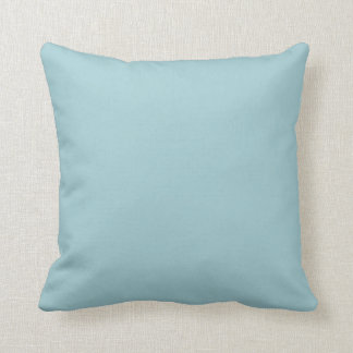 New Light Blue Solid Couch Pillow Gift