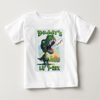 New Lil' T Rex Baby T-Shirt