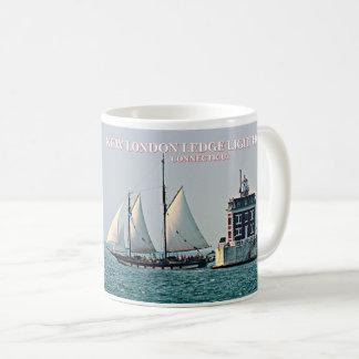New London Ledge Lighthouse, Connecticut Mug