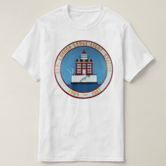 New London Ledge Lighthouse, Connecticut T-Shirt
