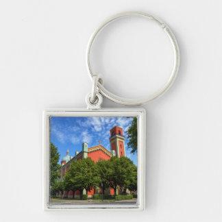 New Lutheran Church in Kezmarok, Slovakia Key Ring