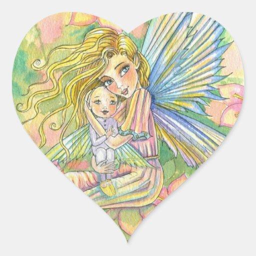 New Mama Baby Fairy Stickers