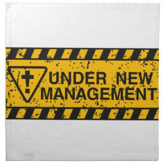 new management napkin