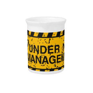 new management pitcher