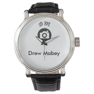 New Men's Leather Watch