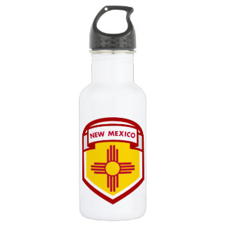 NEW MEXICIO STATE FLAG zazzle 532 Ml Water Bottle