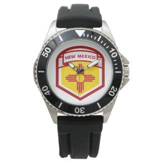 NEW MEXICIO STATE FLAG zazzle Wristwatch