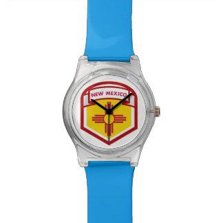 NEW MEXICIO STATE FLAG zazzle Wristwatches