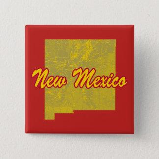 New Mexico 15 Cm Square Badge