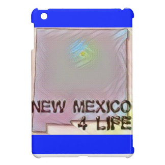 """New Mexico 4 Life"" State Map Pride Design Case For The iPad Mini"