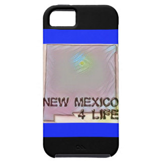"""""""New Mexico 4 Life"""" State Map Pride Design Tough iPhone 5 Case"""