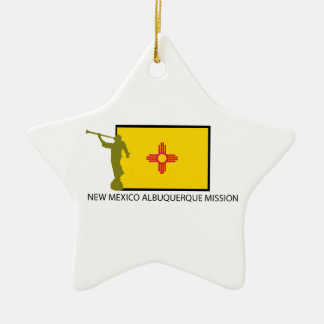 NEW MEXICO ALBUQUERQUE MISSION LDS CTR CERAMIC ORNAMENT