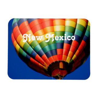New Mexico Ballooning Rectangular Photo Magnet