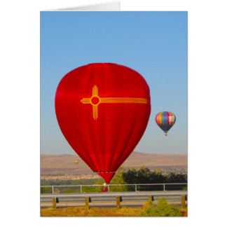 New Mexico Balloons Card