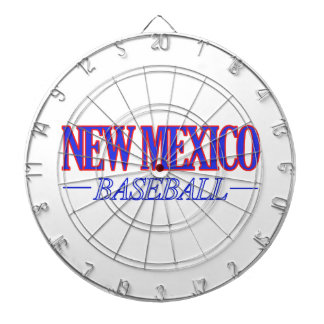 NEW MEXICO baseball DESIGNS Dartboard