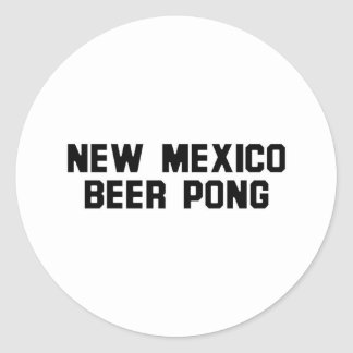 New Mexico Beer Pong Sticker