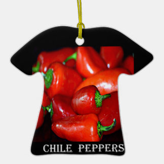 New Mexico Chili Peppers (Chile) Christmas Ornament
