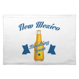 New Mexico Drinking team Placemat