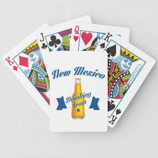 New Mexico Drinking team Poker Deck