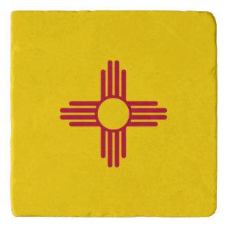 New Mexico flag, American state flag Trivet