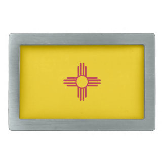 New Mexico Flag Belt Buckles