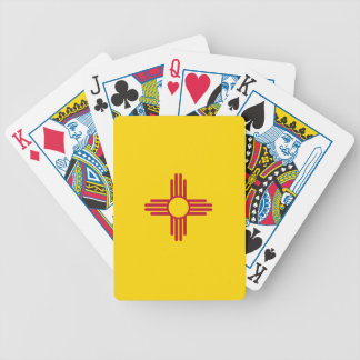New Mexico Flag Bicycle Playing Cards