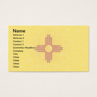 NEW MEXICO FLAG Business Cards