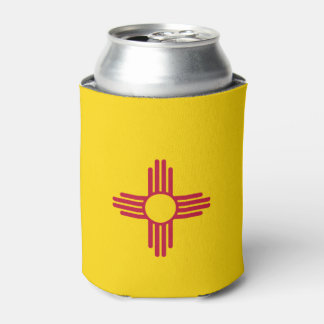 New Mexico Flag Can Cooler