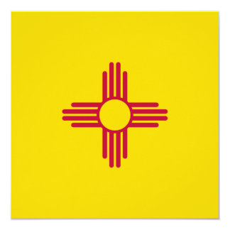 New Mexico Flag Card