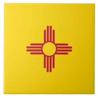 New Mexico Flag Ceramic Tile